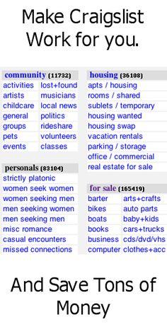 Make Craigslist Work for You