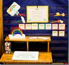 Rainbow Theme #TotSchool