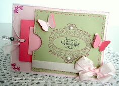 Your a Wonderful Friend card designed by Melissa Bove