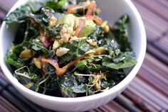 Esalen Kale Salad. #AndersonEatsKale