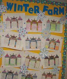 The Wild Christmas Reindeer by Jan Brett Writing Assignment Third Grade Class