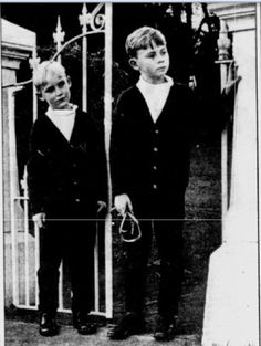 "Sydney Morning Herald, Sept 1, 1968.  ""Lost Dog Echo of New Riddle.""  Chandler sons Sean (left) and his brother Gareth set out to look for their lost dog."