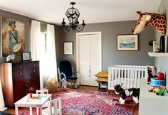 Ike's Nursery by Erin of Design Crisis // via Apartment Therapy