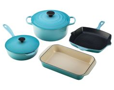 6-Piece Set from Le Creuset. Just a cool $600.