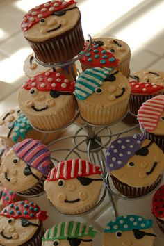 Are these pirate cupcakes okay? @Cristen Nelson Tao