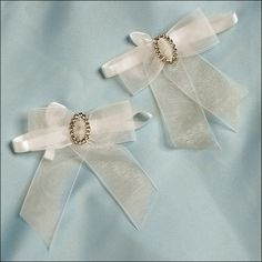 Accent Bows - Endless Love - Ivory