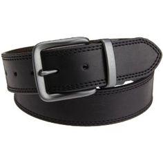 Levi's Mens 40mm Reversible Leather Belt, Black/Brown, Large (Apparel)
