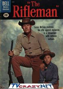 Rifleman TV Series with Chuck Connors and Johnny Crawford - 1958 - 1963