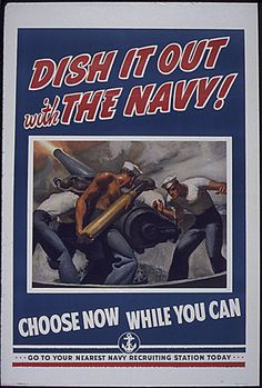 WW2 US Navy recruiting poster
