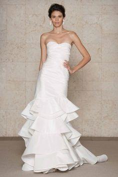 bridal dress, wedding dressses, idea, la renta, de la