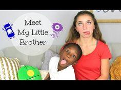 Meet My Little Brother Daxton!  #brooklynandbailey #daxton