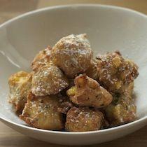 Corn Hush Puppies Beignet Recipe | Tasting Table