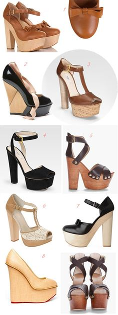 love all platform shoes ~~  YES ....all !!
