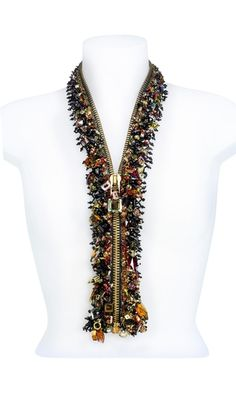 Zipper with SWAROVSKI ELEMENTS - Fire Mountain Gems and Beads