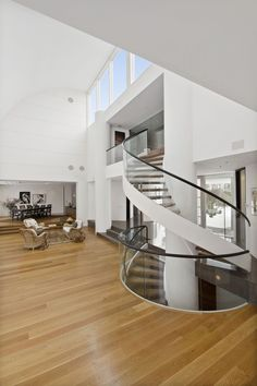 Contemporary Stairca