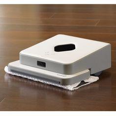 The Autonomous Hardwood Floor Wet/Dry Mop - Hammacher Schlemmer