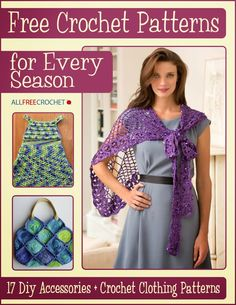 All Free Crochet has just released a new FREE eBook with beautiful crochet patterns for every season!