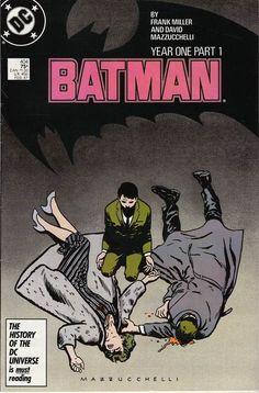 Batman #404: Year One by Frank Miller and David Mazzucchelli.