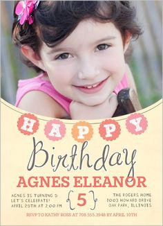 Birthday Happiness 5x7 Stationery Card by Float Paperie | Shutterfly
