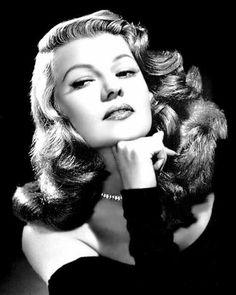 rita hayworth, hollywood icon