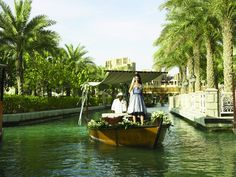 Madinat Jumeirah Resort, Dubai - Weddings - Bride on Abra