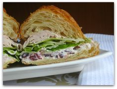 Restaurant Inspiration [Cranberry Walnut Sandwich Spread]