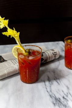 The Best Bloody Mary You'll Ever Have / Nicole Franzen