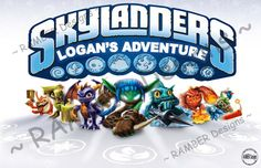 Personalized Skylanders Placemat by RAMBERDesigns on Etsy, $9.50