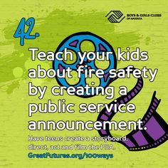 Teach your kids about fire safety by creating a public service announcement. Have teens create …