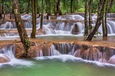 Tad Sae Waterfall, Laos