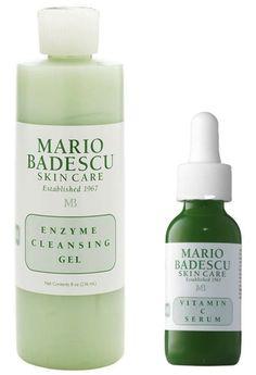 Mario Badescu Enzyme Cleansing Gel & Vitamin C Serum…