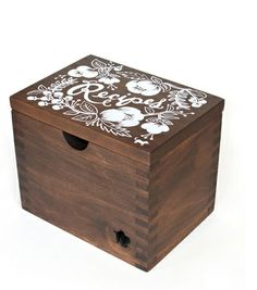 Heirloom Recipe Card Box - Floral, $135 | Rifle Paper Co.