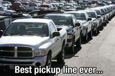 Best Pickup Line ever