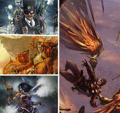 Steampunk Art: 11 Steam Powered Character