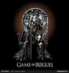 GAME OF ROGUES #shirt #batman #darkknight #got #series #comic