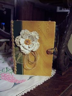 Keepsake box made from an old Reader's Digest Condensed book.