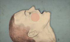 """""""Beautiful Pain"""" Art Print by Sofia Azevedo on Society6."""