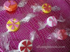 Bottle Cap Peppermints - Girl Scout SWAPS Ideas