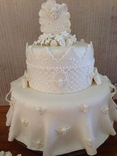 Bolo batizado cake
