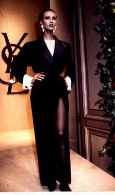 iman model, fashion, laurent iman, yves saint laurent model, beauti, african model, 1980s model, ysl, haute couture