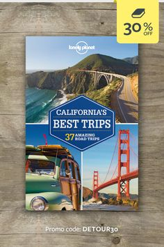 Discover the freedom of the open road with California's Best Trips. Whether you want to explore landmark national parks, taste wines in vine-strewn valleys or visit Gold Rush towns, we've got the trip for you. | CLICK THROUGH AND ENTER THE PROMO CODE FOR 30% OFF THIS TITLE #lproadtrip