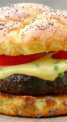 Beer-Cheese Burger