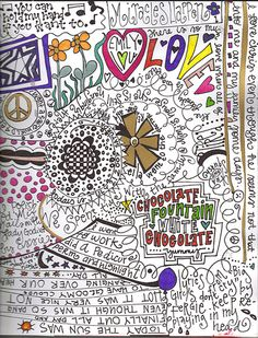 doodle journal- interesting idea to try
