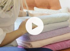 A Better Way to Fold Towels | Home + Garden | PureWow National