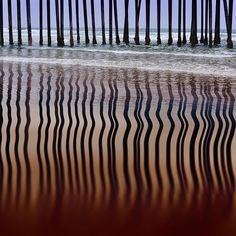 water, beaches, patterns, sea, stripes, pismo beach, shadows, photography reflections, pole dance
