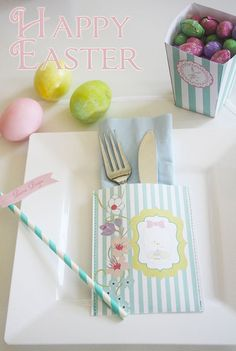 Easter Brunch Party Collection  Printable Party  by worldwideparty, $7.00