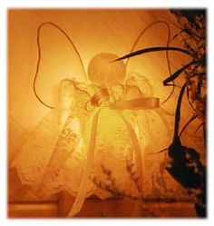 Glowing Night Light Angel~ Free Craft Project