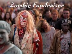 FundraiserHelp.com Zombie Fun Run/Walk/Lurch  - Its not how fast you get to the finish line, its how fashionably zombie you are on the way there...