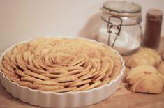 Rustic Carmel Apple Tart.