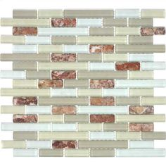 Glacier Mountain - Rectangles (Fire and Ice). $15.92 Per Sheet from Wholesalers USA
